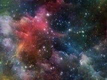 Предпосылка космоса Стоковые Фотографии RF