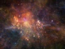 Предпосылка космоса Стоковые Изображения RF