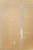 предпосылка, котор будут сделанным drywall имеет связывать тесьмой снятый sheetrock spackling Стоковые Фото