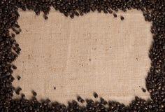 Предпосылка кофейного зерна стоковые фото