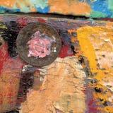 Предпосылка краски текстуры Стоковые Изображения