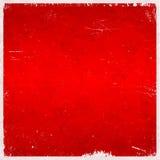Предпосылка красного рождества тематическая grungy Стоковое Фото