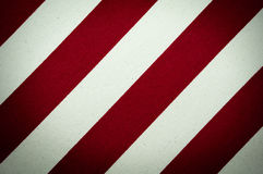 Предпосылка красного цвета и белых striped холста Стоковое Изображение RF