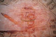 Предпосылка красной кирпичной стены для текстуры Стоковая Фотография RF