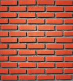 Предпосылка красной кирпичной стены Стоковые Изображения RF