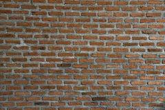 Предпосылка красной текстуры кирпичной стены Стоковые Изображения