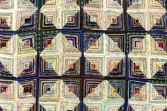 Предпосылка красочной handmade заплатки стоковые изображения rf