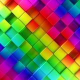 Предпосылка красочных блоков абстрактная Стоковая Фотография