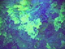 Предпосылка красочных геометрических форм Стоковая Фотография