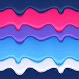 Предпосылка красочных потеков абстрактная Стоковые Изображения
