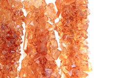 Предпосылка кристаллов желтого сахарного песка Стоковая Фотография RF