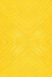 предпосылка кроет желтый цвет черепицей Стоковое Изображение