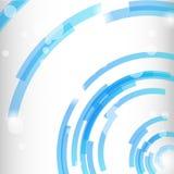 Предпосылка круга геометрическая современная Стоковое Изображение RF