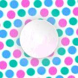 Предпосылка кругов цвета Стоковое фото RF