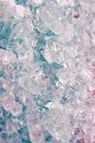 Предпосылка кубов льда Стоковые Фотографии RF