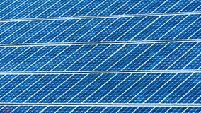 Предпосылка клеток панели солнечной энергии Стоковое Изображение RF