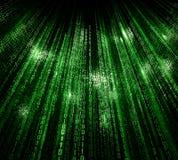 Предпосылка матрицы цифров абстрактная Стоковая Фотография