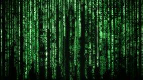 Предпосылка матрицы Стоковые Фотографии RF
