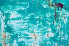 Предпосылка металла краски повреждения ржавая текстурированная Стоковые Изображения