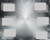 Предпосылка металла Стоковые Изображения RF