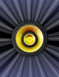 предпосылка может различные используемые цели нот иллюстрации Стоковые Фотографии RF