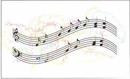 предпосылка может различные используемые цели нот иллюстрации Стоковое Фото