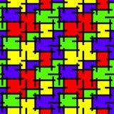 Предпосылка мозаики цветного стекла иллюстрация штока