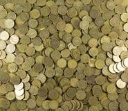 Предпосылка монеток Много монеток Стоковые Фотографии RF