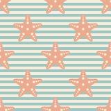 Предпосылка морской звезды Стоковое фото RF