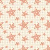 Предпосылка морской звезды Стоковое Изображение RF
