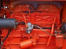 Предпосылка мотора двигателя транспорта Стоковое Изображение RF