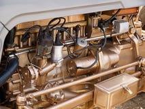 Предпосылка мотора двигателя транспорта Стоковые Фотографии RF