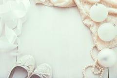 Предпосылка моды рождества Стоковая Фотография RF