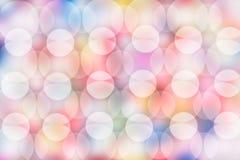 Предпосылка мягких светов Стоковая Фотография RF