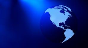 Предпосылка названия планеты земли Стоковые Фото