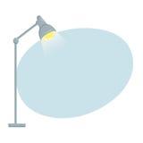 Предпосылка настольной лампы Стоковые Фото