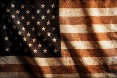 Предпосылка национального флага США Стоковые Изображения RF