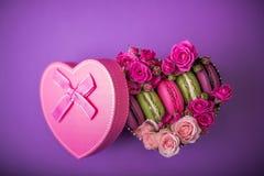 Предпосылка на день матери пасха валентинок с влюбленностью Стоковое Изображение RF