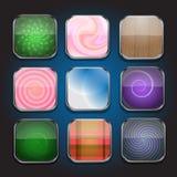 Икон-часть 1 App Стоковая Фотография RF