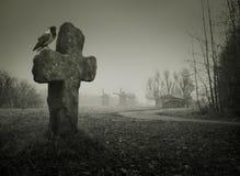 Предпосылка на хеллоуин Стоковое Изображение