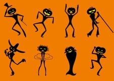 Предпосылка на хеллоуин Стоковая Фотография RF