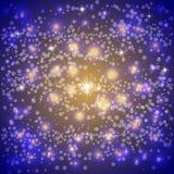Предпосылка неба зимы вектора абстрактная иллюстрация штока