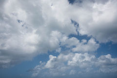Предпосылка 2 неба и облаков Стоковые Изображения