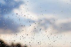 Предпосылка неба и природы падений Стоковое Фото