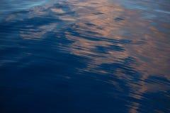 Предпосылка неба и пустая зона для текста, предпосылки природы и чувствовать хороший в сумерк или утре, предпосылке для представл Стоковые Фото