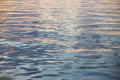 Предпосылка неба и пустая зона для текста, предпосылки природы и чувствовать хороший в сумерк или утре, предпосылке для представл Стоковая Фотография