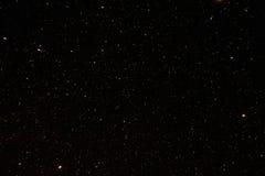 Предпосылка неба ночи звёздная Взгляд ночи естественных накаляя звезд Стоковая Фотография