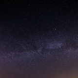 Предпосылка неба ночи звёздная Стоковые Фотографии RF