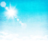Предпосылка неба Grunge абстрактная Стоковое фото RF