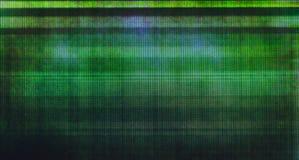 Предпосылка небольшого затруднения сломленного дисплея LCD Стоковое Изображение